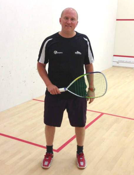 Tim Vail Racketball Exhibition