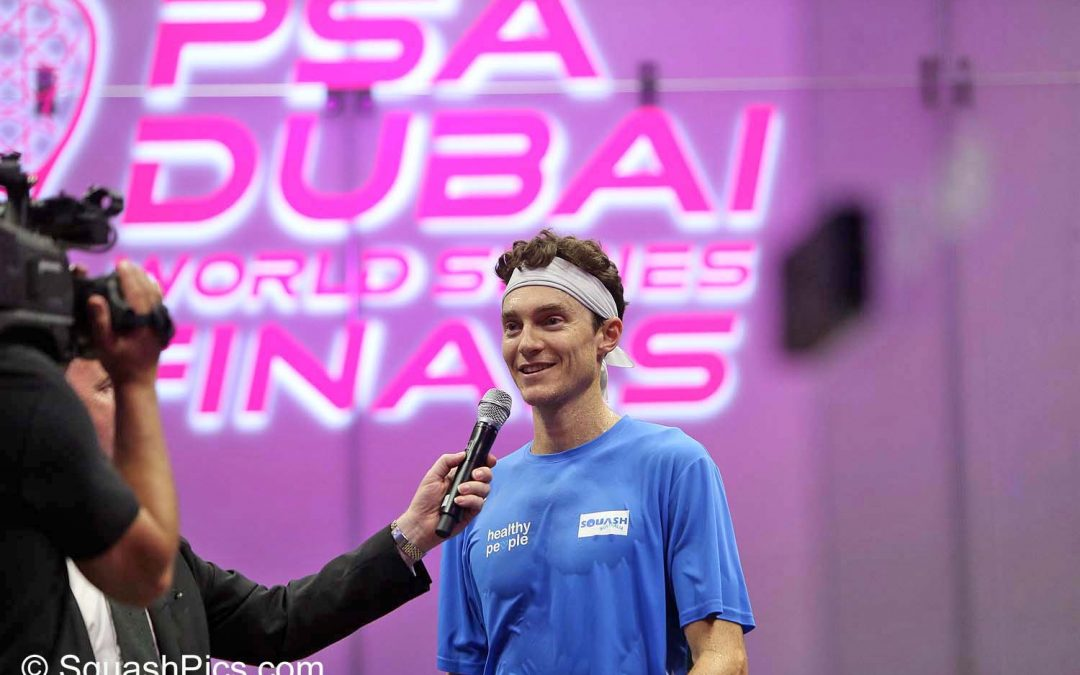 Pilley wins Squash Player's Player of the Month award