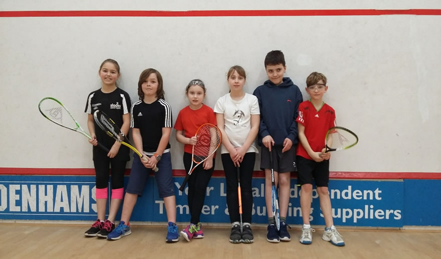 Jan Junior Fun Tournament at Bournemouth Squash Club Report